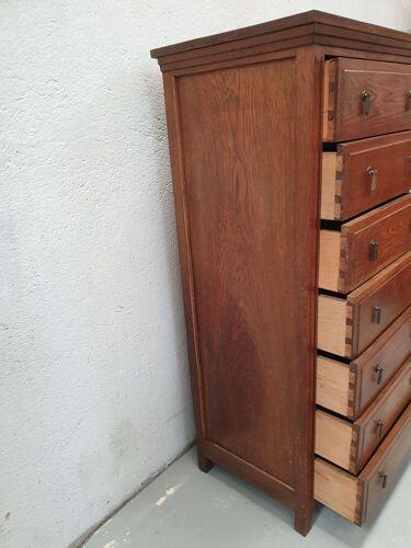 Commode 7 tiroirs art deco