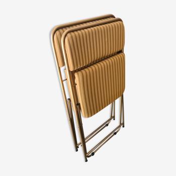 2 chaises pliantes Lafuma