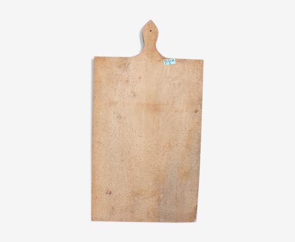 Vieille planche à découper 73,5 x 39 cm