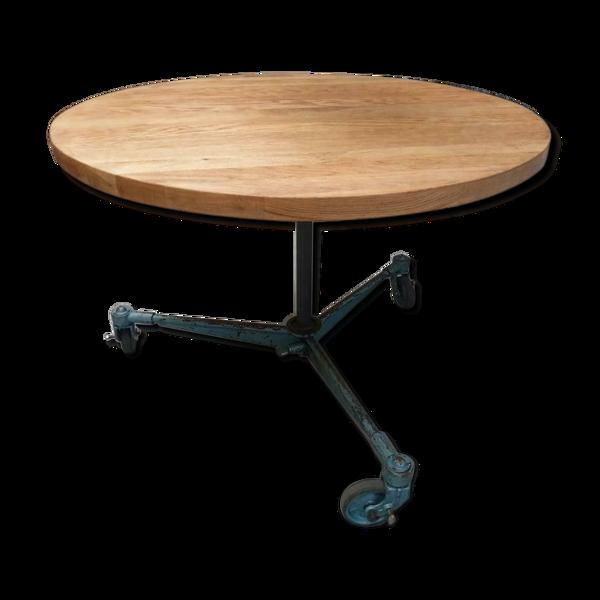 Table ronde de chêne