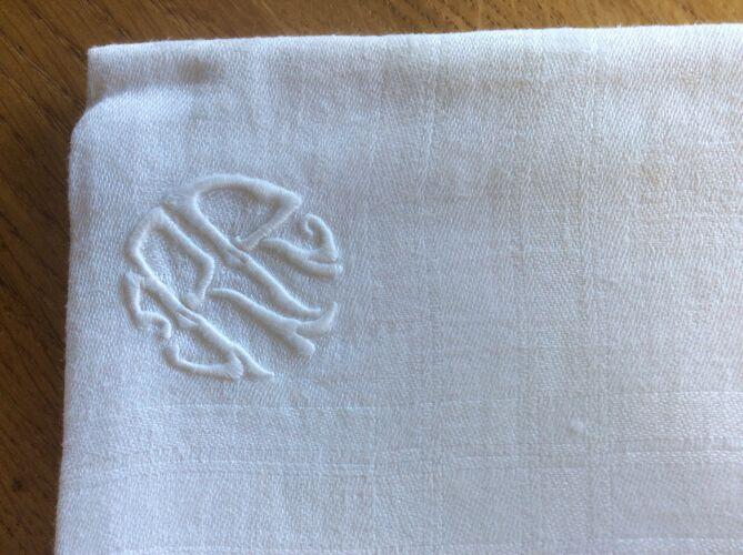 Paire de serviettes 70 x 63