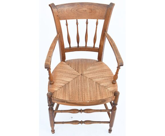 Mulched Provencal armchair