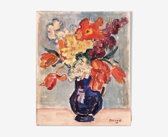 """Tableau """"Le bouquet du jour"""""""