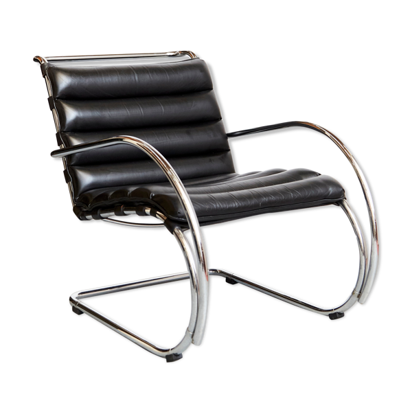 Fauteuil Ludwig Mies van der Rohe MR pour Knoll International