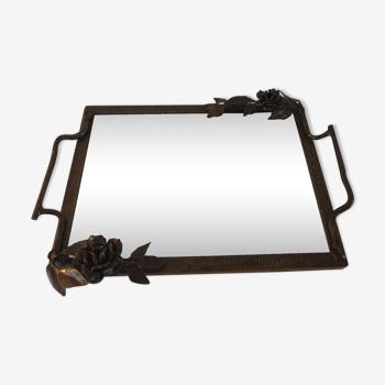 Tableau miroir en fer