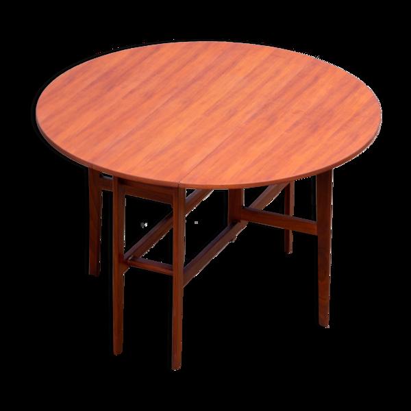Table à manger scandinave vintage 1960
