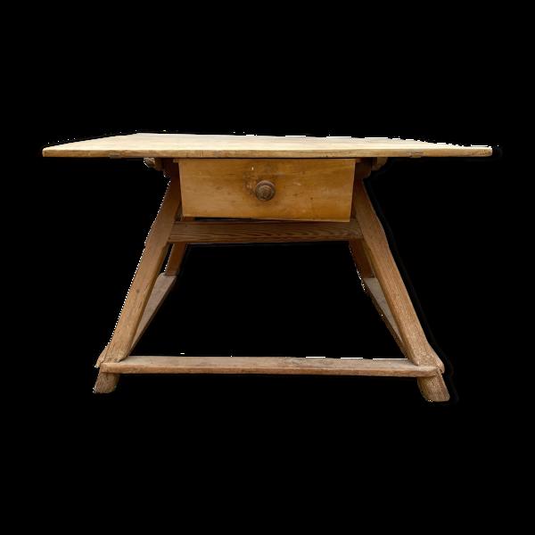 Table de métier vintage table de boulanger 1930s