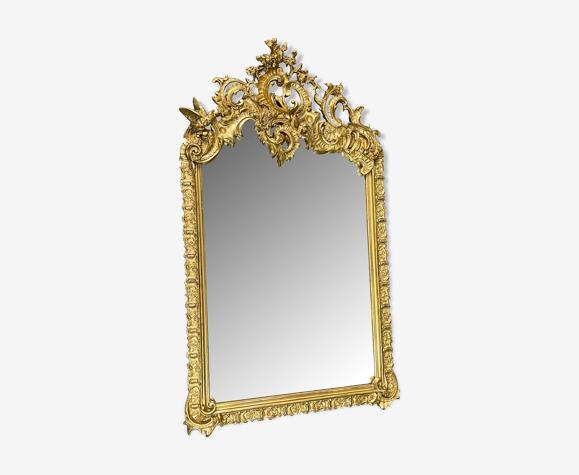 Miroir 135x80 ancien XXè style rocaille ,louis XV