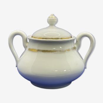 Sucrier en porcelaine de Paris - XIXème