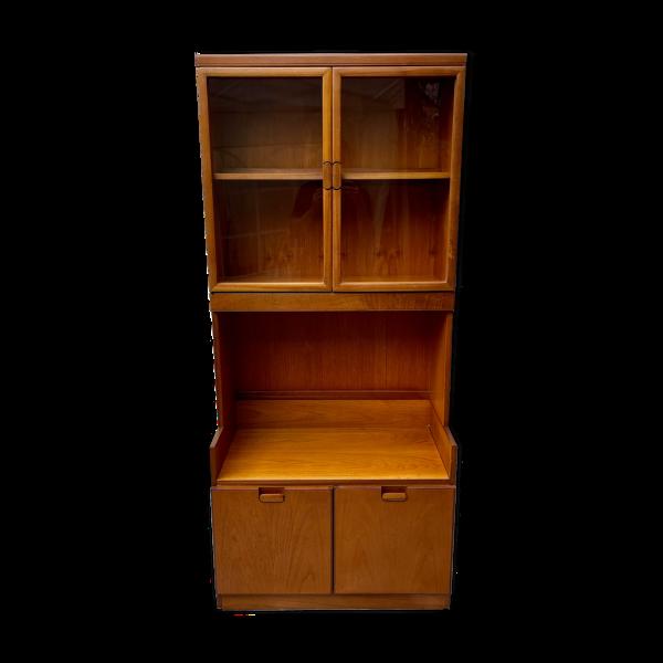 Armoire d'affichage de bibliothèque d'unité de mur de cru