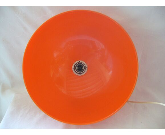 suspension vintage orange