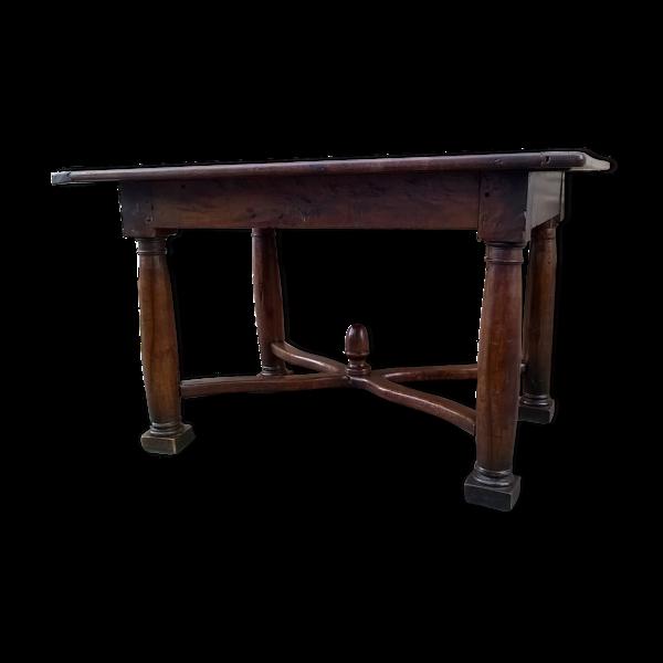 Table en noyer Renaissance