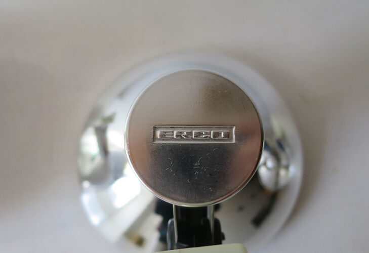 Spot metal chrome Erco