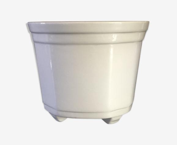 Cache pot en porcelaine ancien