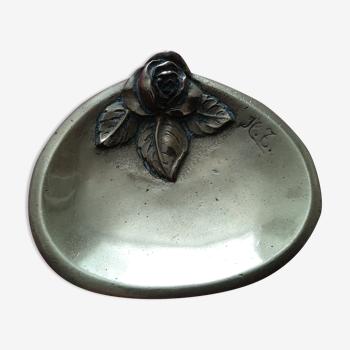 Petit cendrier bronze
