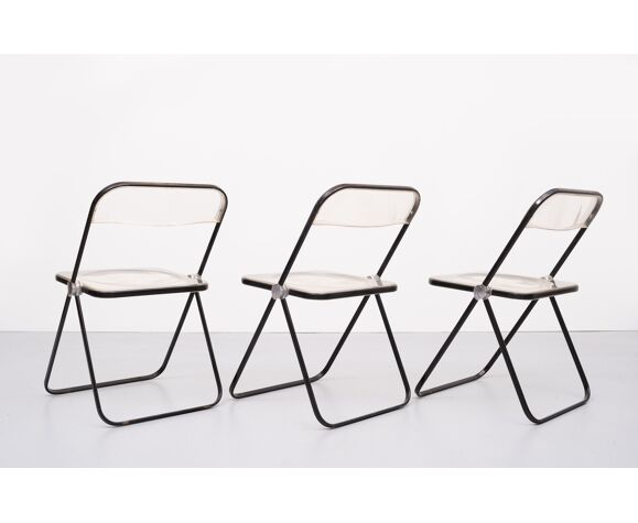 Chaises pliantes Plia par Giancarlo Piretti, Castelli