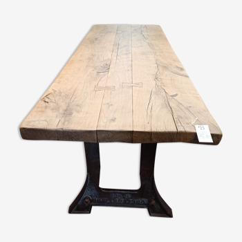 Table en chêne création