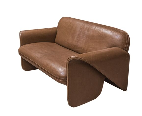Ensemble canapé fauteuil De Sede DS 125 vintage