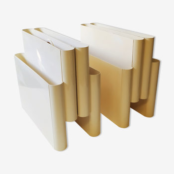 Magazine racks by Giotto Stoppino for Kartell, 1970