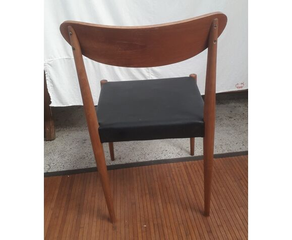 2 chaises style scandinave