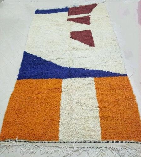Tapis berbère coloré  254 x 146 cm