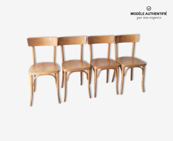 Set de 4 chaises bistrot Thonet