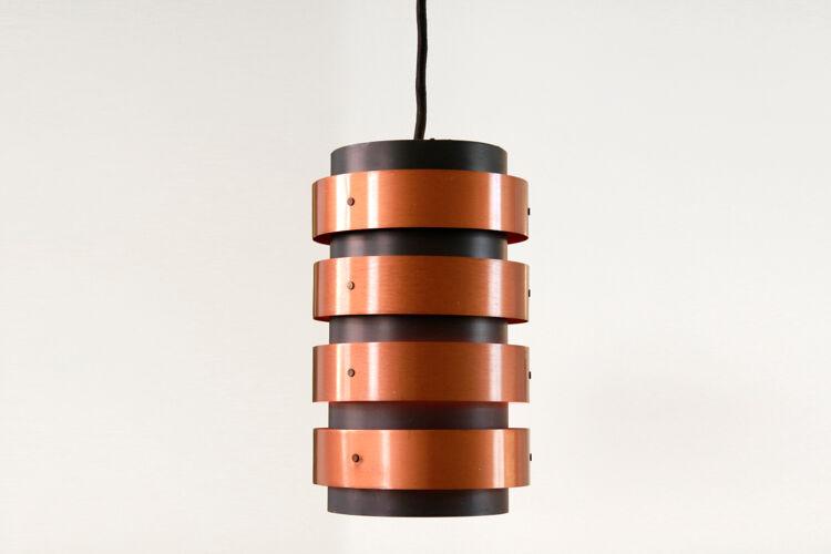 Black suspension with copper