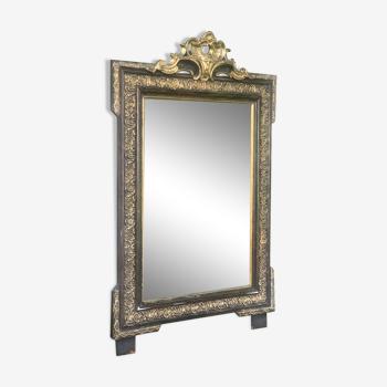 Miroir ancien Napoléon III