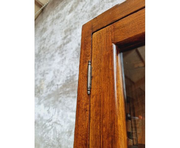 Ancienne vitrine en chêne