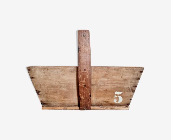 Panier en bois ancien