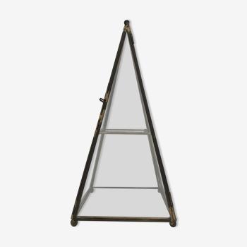 Boite vitrine pyramide
