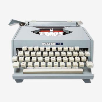 Revised Luxor 1980 typewriter
