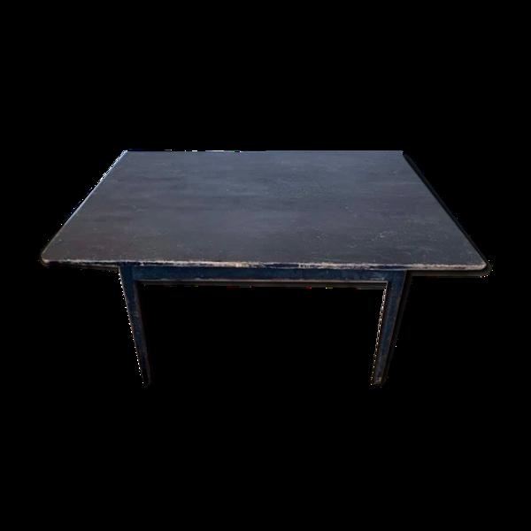 Table bistrot table d'atelier loft patine d'origine