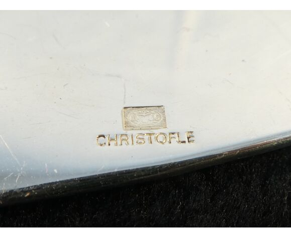 Couvert de service a poisson christofle art deco modele america par luc lanel