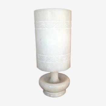 Lampe en albâtre