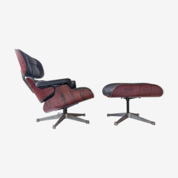 Fauteuil Charles Eames et repose-pieds ICF pour Herman Miller