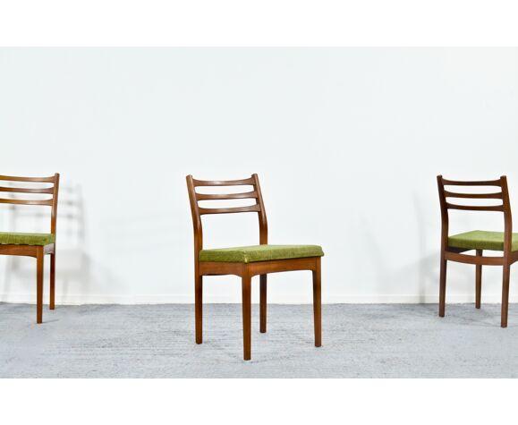 Lot de 4 chaises en teck 'meredew'