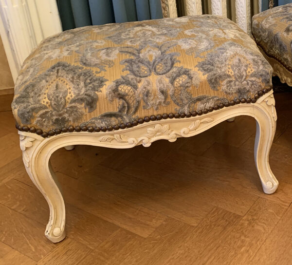 Tabourets style Louis XV