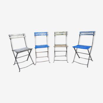 Chaises pliantes de jardin