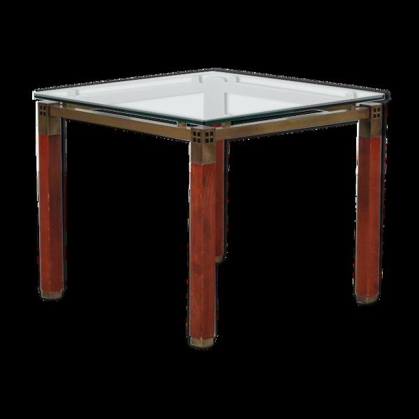 Table d'appoint conçue par Peter Ghyczy fabriqué par Ghyczy aux Pays-Bas