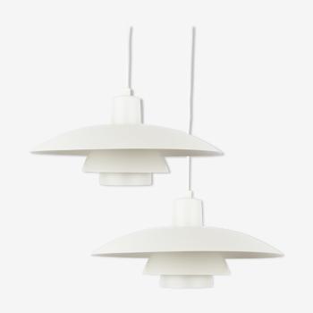 Pair of vintage PH 4/3 pendant lamps by Poul Henningsen, Louis Poulsen, 1966