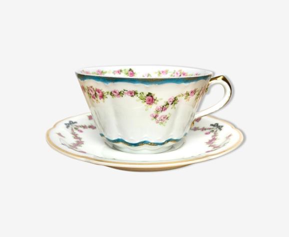 Tasse à thé Th. Havilant 1920