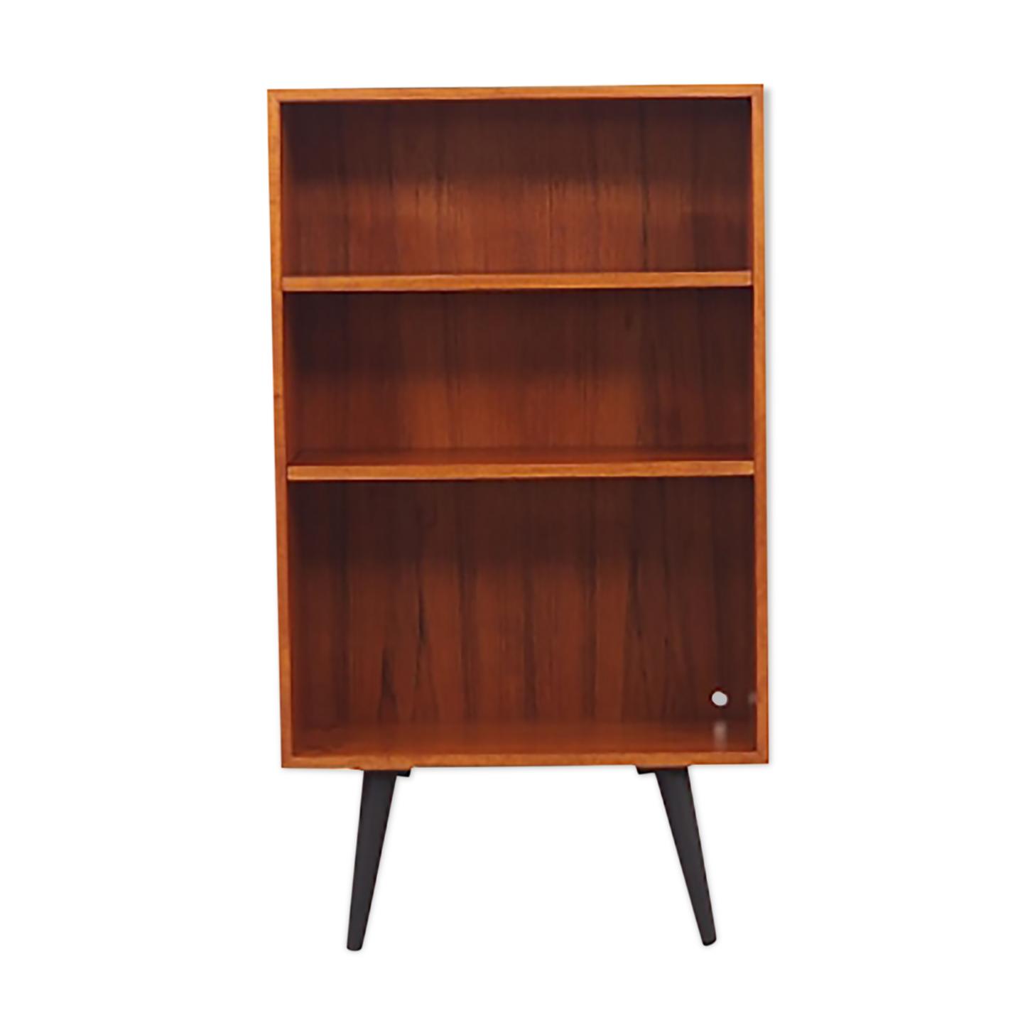 Bibliothèque en teck, années 1970, design danois, Domino