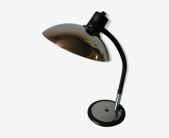 Lampe articulée flexible abat jour en métal