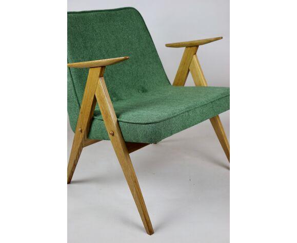 Fauteuil vert comme Bunny années 1970