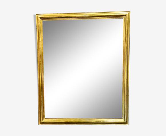 Miroir 119x98 d'époque Louis Philippe 1840 dorure feuille d'or