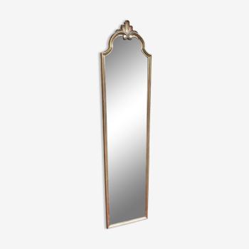 Miroir d'entre-deux en bois doré