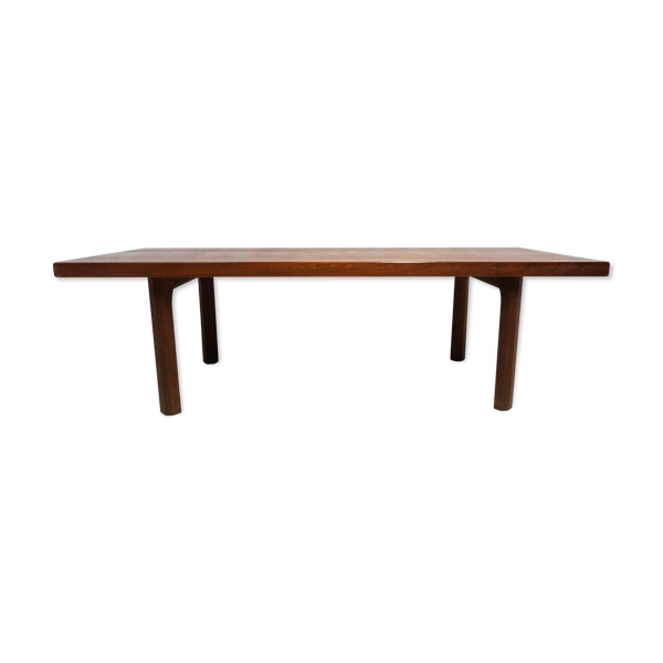 Selency Table basse scandinave en teck massif