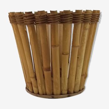 Cache pot en bambou 25cm