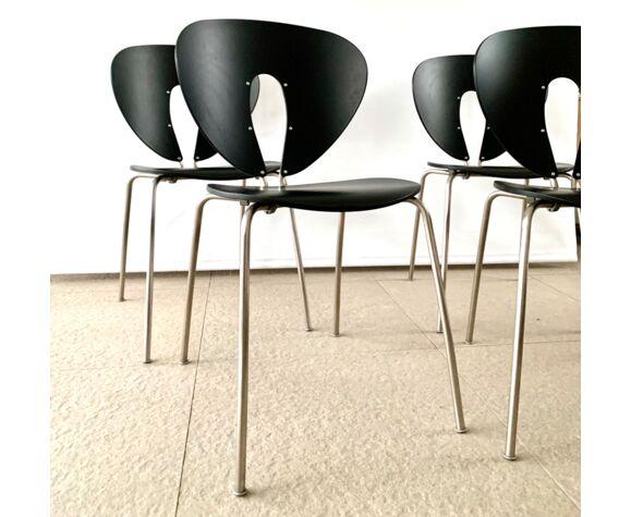 Set de 4 chaises Globus